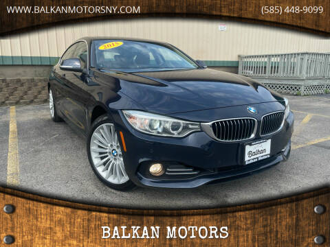 2015 BMW 4 Series for sale at BALKAN MOTORS in East Rochester NY