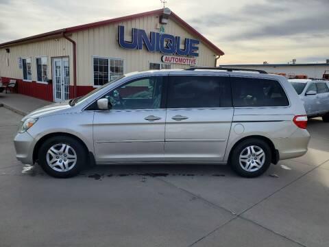 "2007 Honda Odyssey for sale at UNIQUE AUTOMOTIVE ""BE UNIQUE"" in Garden City KS"