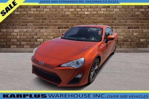 2014 Scion FR-S for sale at Karplus Warehouse in Pacoima CA