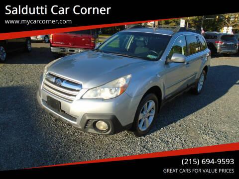 2013 Subaru Outback for sale at Saldutti Car Corner in Gilbertsville PA