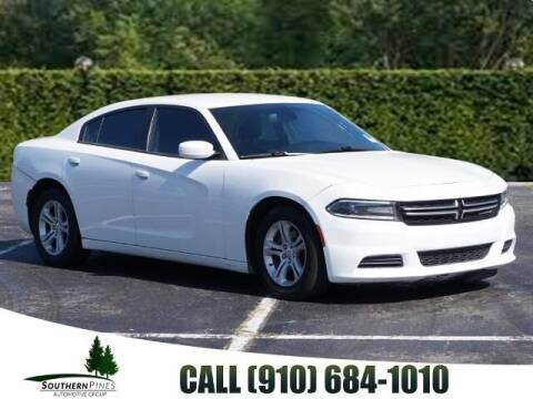 2015 Dodge Charger for sale at PHIL SMITH AUTOMOTIVE GROUP - Pinehurst Nissan Kia in Southern Pines NC