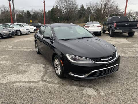 2015 Chrysler 200 for sale at Texas Drive LLC in Garland TX