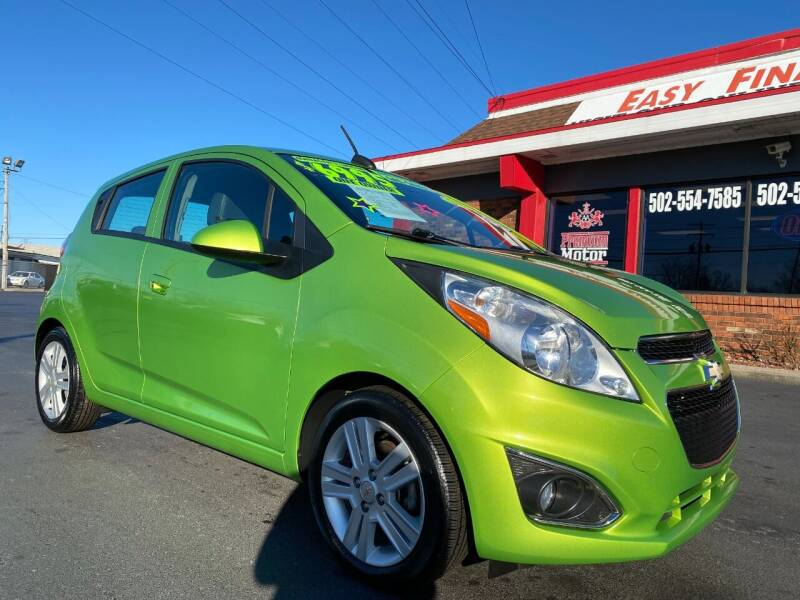 2015 Chevrolet Spark for sale at Premium Motors in Louisville KY