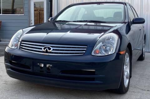 2004 Infiniti G35 for sale at Mr Cars LLC in Houston TX