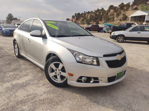 2011 Chevrolet Cruze for sale at Canyon View Auto Sales in Cedar City UT