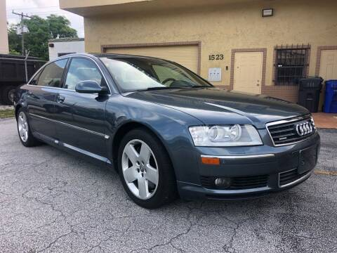 2004 Audi A8 L for sale at Florida Cool Cars in Fort Lauderdale FL