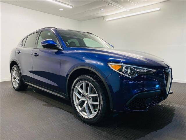 2018 Alfa Romeo Stelvio for sale at Champagne Motor Car Company in Willimantic CT