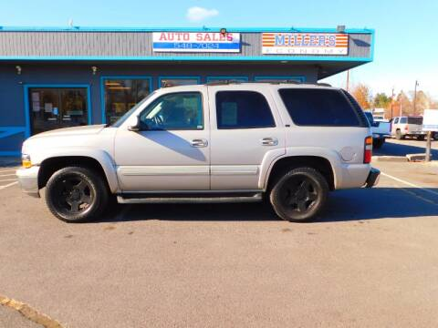 2005 Chevrolet Tahoe for sale at Miller's Economy Auto in Redmond OR