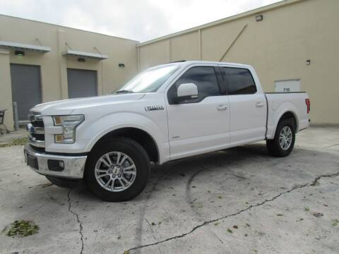 2015 Ford F-150 for sale at Easy Deal Auto Brokers in Hollywood FL