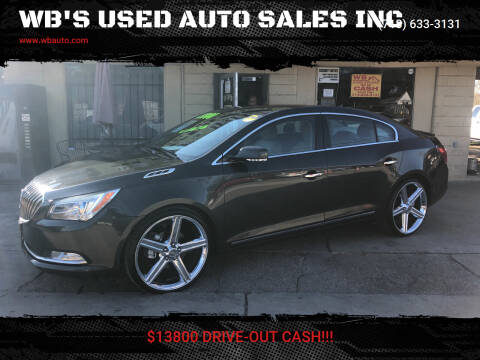 2014 Buick LaCrosse for sale at WB'S USED AUTO SALES INC in Houston TX
