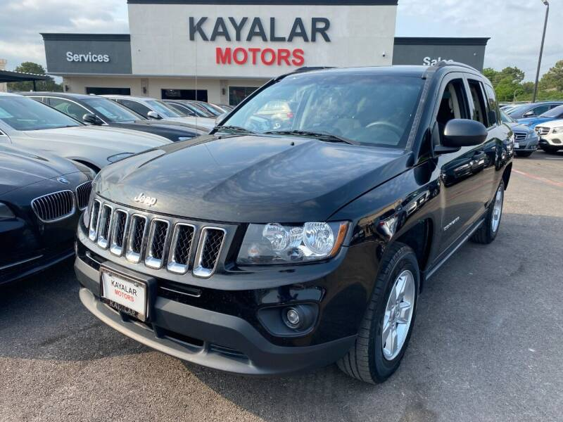 2016 Jeep Compass for sale at KAYALAR MOTORS in Houston TX