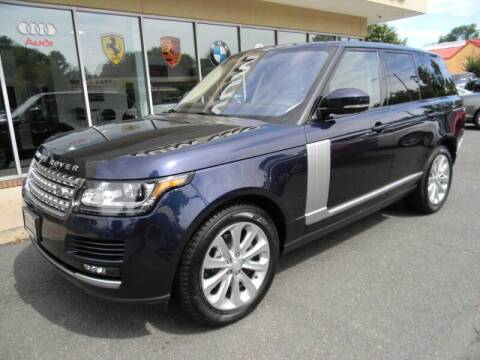 2016 Land Rover Range Rover for sale at Platinum Motorcars in Warrenton VA