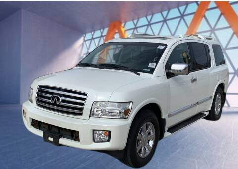 2004 Infiniti QX56 for sale at Z AUTO MART in Lewisville TX