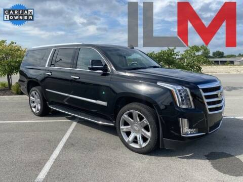 2020 Cadillac Escalade ESV for sale at INDY LUXURY MOTORSPORTS in Fishers IN