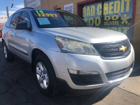 2014 Chevrolet Traverse for sale at Sunday Car Company LLC in Phoenix AZ