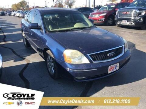 2005 Ford Five Hundred for sale at COYLE GM - COYLE NISSAN - New Inventory in Clarksville IN