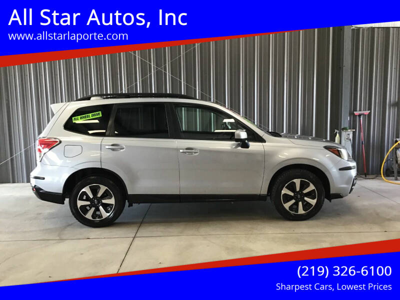 2018 Subaru Forester for sale at All Star Autos, Inc in La Porte IN
