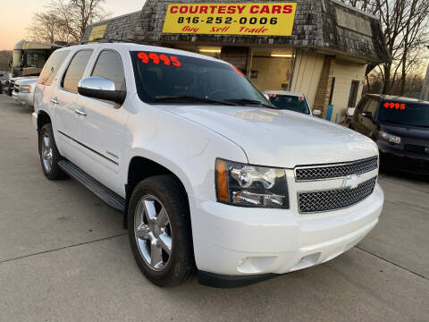 2012 Chevrolet Tahoe for sale at Courtesy Cars in Independence MO