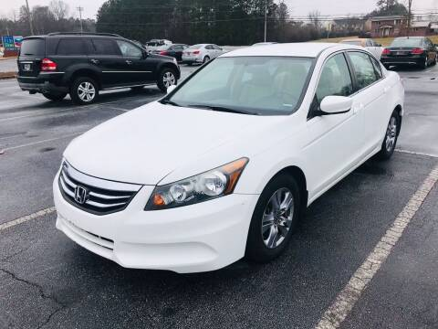 2012 Honda Accord for sale at Atlanta Motor Sales in Loganville GA