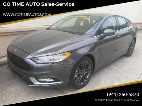 2018 Ford Fusion for sale at Go Time Automotive in Sarasota- Bradenton FL