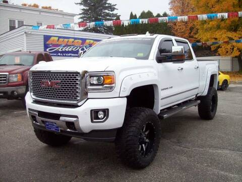 2015 GMC Sierra 2500HD for sale at Auto Pro Auto Sales in Lewiston ME