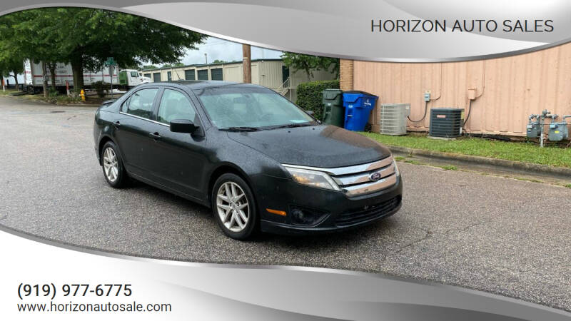 2011 Ford Fusion for sale at Horizon Auto Sales in Raleigh NC