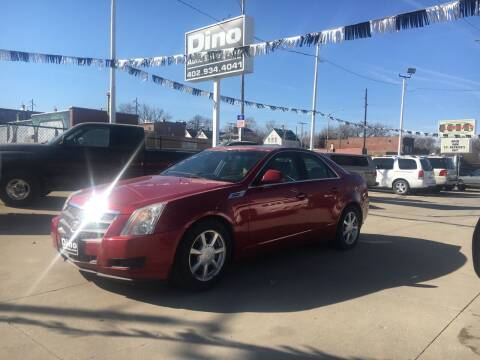 2009 Cadillac CTS for sale at Dino Auto Sales in Omaha NE