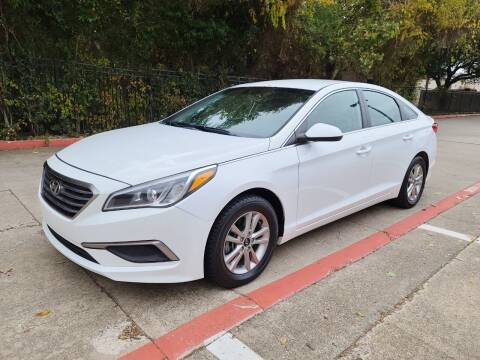2017 Hyundai Sonata for sale at DFW Autohaus in Dallas TX