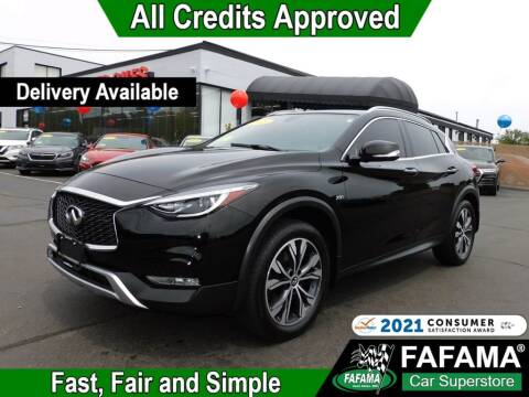 2018 Infiniti QX30 for sale at FAFAMA AUTO SALES Inc in Milford MA