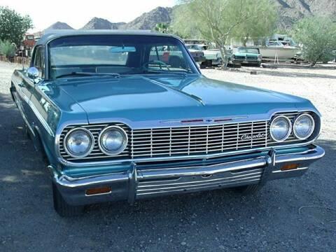 1964 Chevrolet Impala for sale at Collector Car Channel - Desert Gardens Mobile Homes in Quartzsite AZ