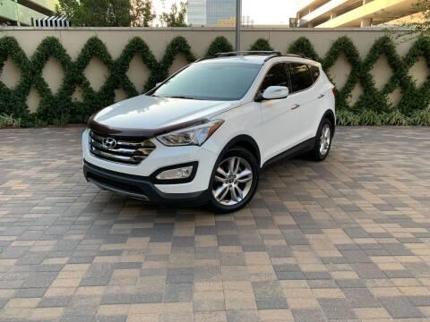 2013 Hyundai Santa Fe Sport for sale at ROGERS MOTORCARS in Houston TX