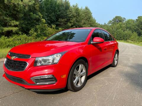 2015 Chevrolet Cruze for sale at Carrera AutoHaus Inc in Clayton NC