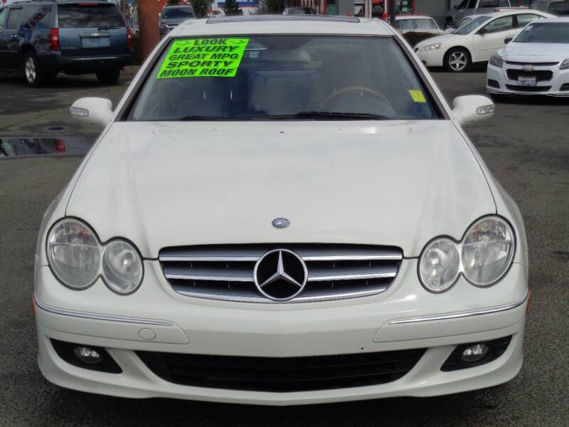 2009 Mercedes-Benz CLK for sale at Vallejo Motors in Vallejo CA