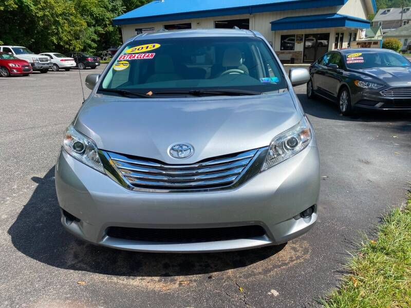 2013 Toyota Sienna for sale at WHARTON'S AUTO SVC & USED CARS in Wheeling WV