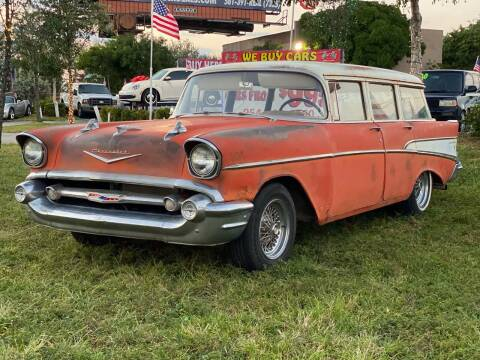 1957 Chevrolet Bel Air for sale at KD's Auto Sales in Pompano Beach FL