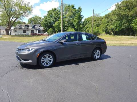 2015 Chrysler 200 for sale at Depue Auto Sales Inc in Paw Paw MI