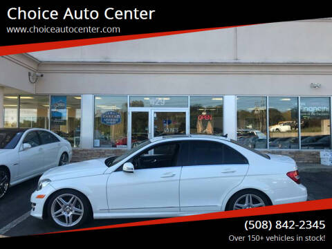 2012 Mercedes-Benz C-Class for sale at Choice Auto Center in Shrewsbury MA