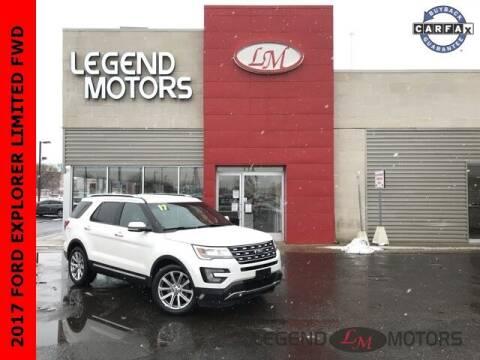 2017 Ford Explorer for sale at Legend Motors of Detroit - Legend Motors of Ferndale in Ferndale MI