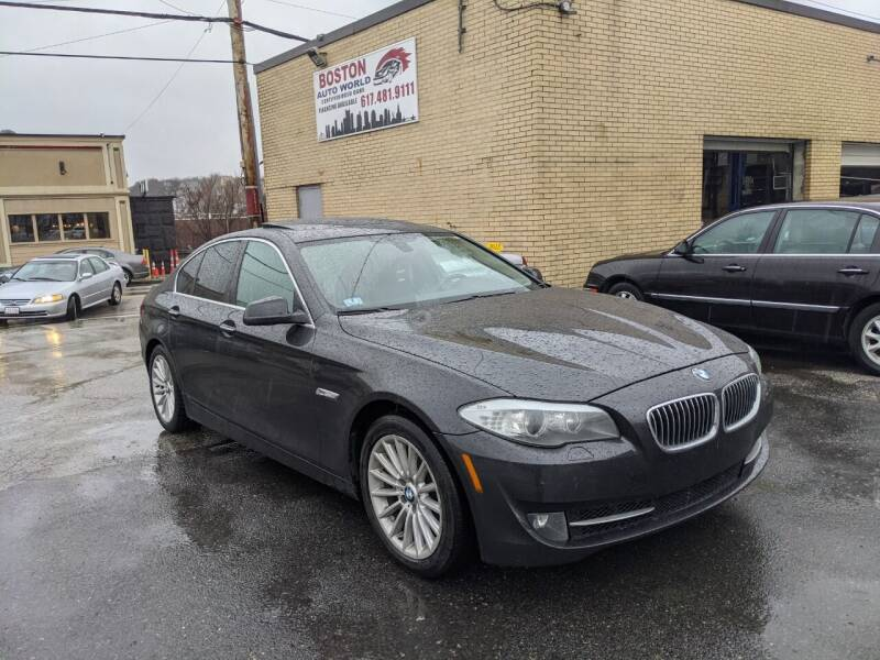 2013 BMW 5 Series for sale at Boston Auto World in Quincy MA