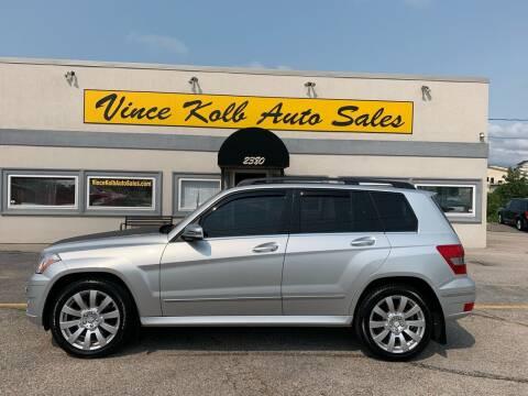 2012 Mercedes-Benz GLK for sale at Vince Kolb Auto Sales in Lake Ozark MO