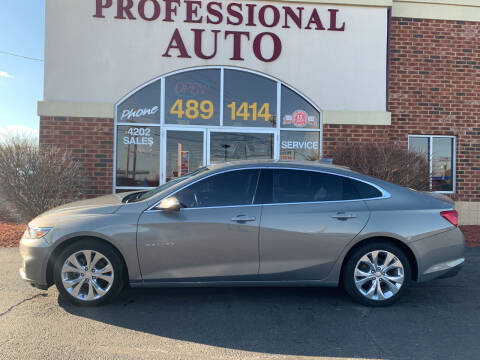 2017 Chevrolet Malibu for sale at Professional Auto Sales & Service in Fort Wayne IN