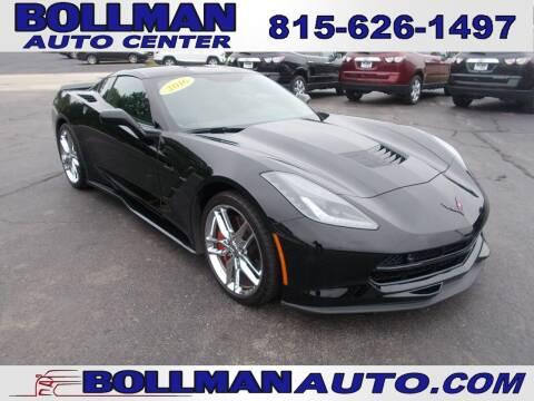 2016 Chevrolet Corvette for sale at Bollman Auto Center in Rock Falls IL