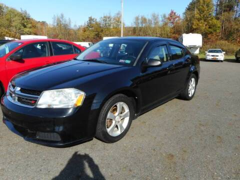 2013 Dodge Avenger for sale at Automotive Toy Store LLC in Mount Carmel PA