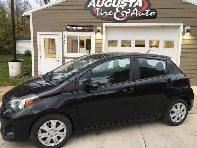 2015 Toyota Yaris for sale at Augusta Tire & Auto in Augusta WI