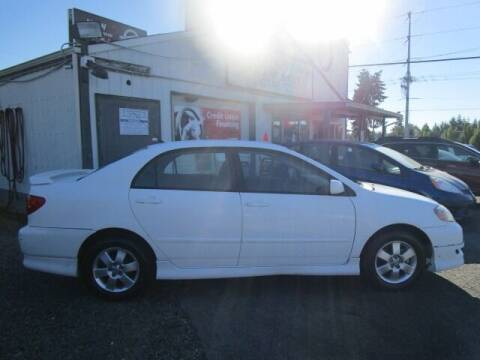 2008 Toyota Corolla for sale at G&R Auto Sales in Lynnwood WA