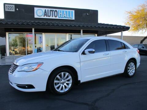 2013 Chrysler 200 for sale at Auto Hall in Chandler AZ