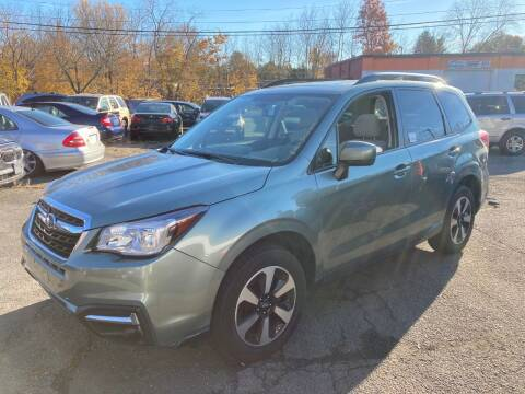 2018 Subaru Forester for sale at ENFIELD STREET AUTO SALES in Enfield CT