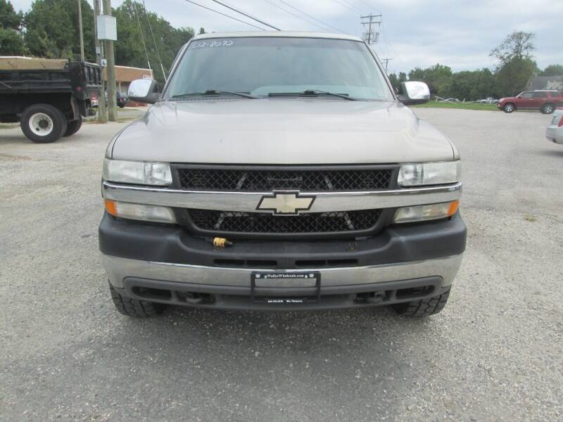 2002 Chevrolet Silverado 2500HD for sale at Wally's Wholesale in Manakin Sabot VA
