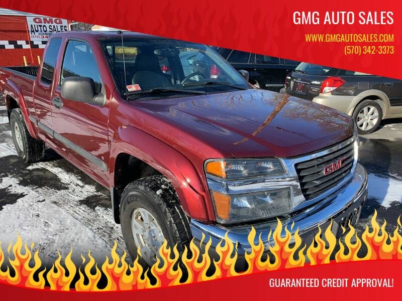 2007 GMC Canyon for sale at GMG AUTO SALES in Scranton PA