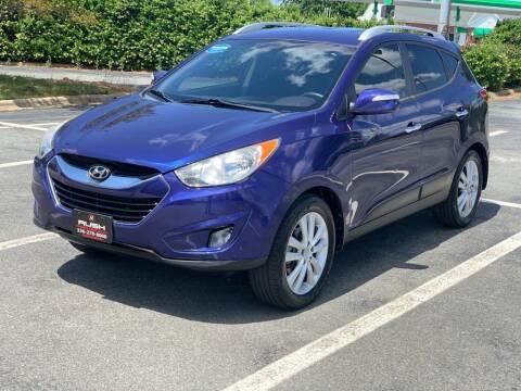 2012 Hyundai Tucson for sale at RUSH AUTO SALES in Burlington NC